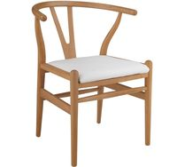 купить Деревянный стул с кожаным сиденьем, 590x550x790 мм в Кишинёве