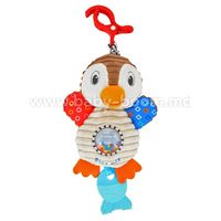 Baby Mix  EF-TE-8248-28  Вибрирующая  плюшевая игрушка Пингвин