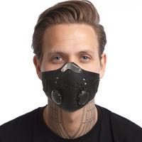 Masca protectie fata windproof MS-0762 neoprene( black) (3837)