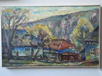 Пейзаж (Бутучень), 50x80 см., холст, масло