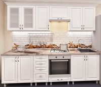 Bucătărie Bafimob Iulia MDF 2.6m White