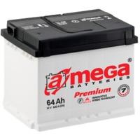 Аккумулятор AMEGA Premium (new)-65Ah-А3(0)