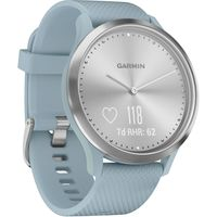 Фитнес-трекер Garmin Vivomove HR Silve, Sea Foam Silicone Band