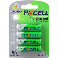 Baterii reincarcabile PkCell AA 2000 mAh 4 bucati