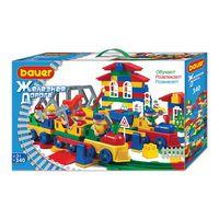 BAUER Train set 340 parts, разноцветный