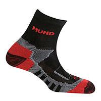 Sosete Mund Trail Running, Correr, black-red, 335/12-13