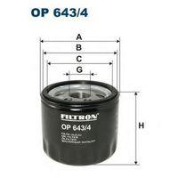 FILTRON OP643/4, Масляный фильтр