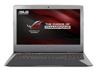 """NB ASUS 17.3"""" G752VT (Core i7-6700HQ 16Gb 128Gb+1Tb Win 10) 17.3"""" IPS Full HD (1920x1080) Non-glare, Intel Core i7-6700HQ (4x Core, 2.6GHz - 3.5GHz, 6Mb), 16Gb (2x 8Gb) PC4-17000, 128Gb M.2 + 1Tb 7200rpm, GeForce GTX 970M 3Gb, HDMI, DVD-RW, Gbit Ethernet, 802.11ac, Bluetooth, 1x USB 3.1 Type C, 4x USB 3.0, Card Reader, HD Webcam, Windows 10 Home RU, 6-cell 66 WHrs Polymer Battery, Illuminated Keyboard, 4.0kg, Gray"""