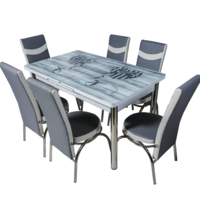 Комплект Келебек ɪɪ 667 + 6 стульев