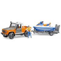 Внедорожник Land Rover с прицепом и водным скутером, код 42280