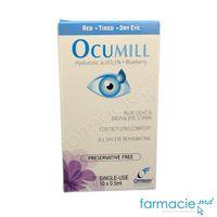 Ocumill Unidoza pic.oft.(ac.hialuronic+extr.afine) N 10x0,5ml revigorant,lubrifiant,rehidratant
