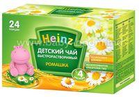 """Heinz Детский чай быстрорастворимый """"Ромашка"""" (4 м+) 24 порции"""