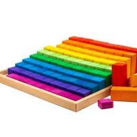Marc Toys деревянная конструктор 100 штк