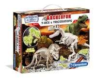 Clementoni Archeofun T-Rex and Triceratops (61245)