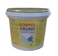 Грунтовка кварцевая ADEPOL GRUND CUARȚ ALB, 1,4 кг