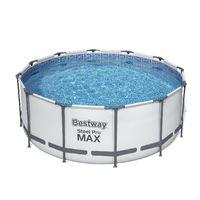 Bestway Бассейн метал каркас Steel Pro Maxl, 305x200x84 см