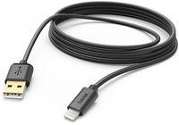 Hama Charging/Data Cable Lightning 3m Black (173787)