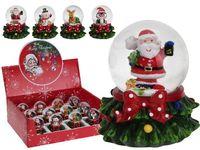 "купить Сувенир со снегом ""Шар Дед Мороз на елке"" 6.5сm в Кишинёве"