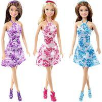 Mattel Барби кукла Цветочный стиль
