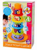 """PlayGo 2395 Пирамидка """"Клоун"""""""