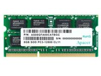 8 ГБ DDR3 1600 МГц SODIMM 204pin Apacer PC12800, CL11, 1,35 В