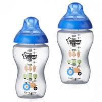 Tommee Tippee бутылочка пластиковая с рисунком Blue 3+мес. 340 мл. 2шт