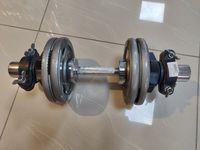 cumpără Set gantere reglabile metal 17 kg (747,1176,2541) în Chișinău