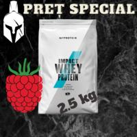 Сывороточный протеин (Impact Whey Protein) - Малина - 2.5 KG