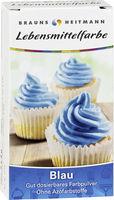 BRAUNS-HEITMANN Пищевой краситель голубой, 2 x 4г