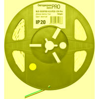 (1) Светодиодная лента (4.8W) NLS-3528Y60-4.8-IP20-12V-Pro R5  ценa/1m