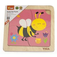 Handy Flat Puzzle - Bee