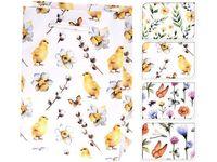"""Пакет подарочный """"Бабочки, цыплята, цветы"""" 23X18X8cm"""