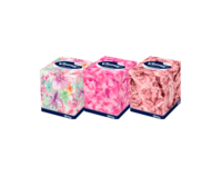 Салфетки в коробке Kleenex Collection, 100 шт, двухслойные