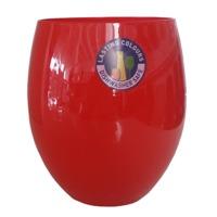Стаканы из стекла Aqua Красный Bormioli 500 мл