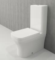 Vas WC pe podea Scala Rimless + capac soft close