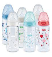 Бутылочка NUK First Choice Temp 300 мл с силиконовой соской (0-6 мес)