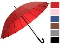купить Зонт-трость одноцветный D104cm, 16спиц, 6цветов в Кишинёве