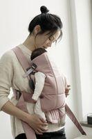 Анатомический мультифункциональный рюкзак-кенгуру BabyBjorn Mini Dusty Pink