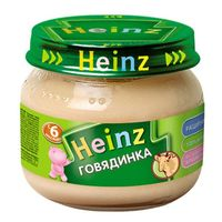 Heinz пюре говядинка, 6+мес. 80г