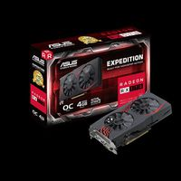 """VGA card PCI-E ASUS EX-RX570-O4G AMD Radeon RX 570, GDDR5 4GB, Engine 1256/1266 MHz, Memory 7000MHz, 256-bit, DVI-D ,HDMI 2.0, DP, HDCP Support"""
