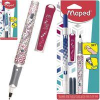 MAPED Ручка роллер MAPED Classic + корректор, блистер
