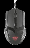 Mouse Trust GXT 101 Gav Gaming, Black