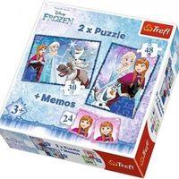 Trefl Пазлы Frozen 2 в 1