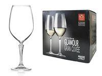 Set pahare pentru vin Glamour 6buc, 760ml