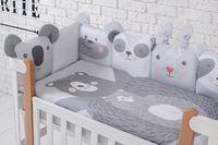 Veres Комплект для кроватки Zoo, 6 штк