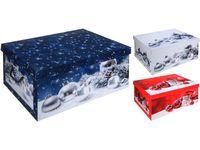 купить Коробка рождественская 51X37X24cm в Кишинёве