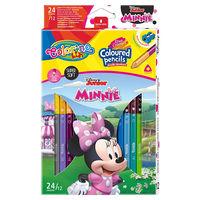 Карандаши цветные двусторонние - Colorino Disney Minnie Mouse