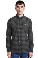 Рубашка TOM TAILOR Серый в клетку 1014476 tom tailor
