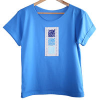 купить Женская футболка с ручной вышивкой - Basarabia в Кишинёве