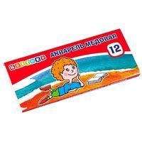 ЦВЕТИК Краски акварельные ЦВЕТИК/12 картон